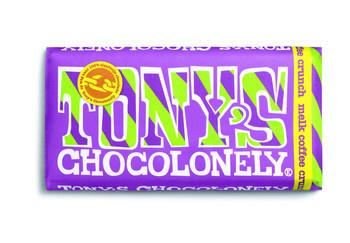 Tony's Chocolonely Tony'S Chocolonely - Reep 180G Melk Coffee Crunch, 15 Repen