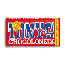Tony'S Chocolonely - Reep 180G Melk, 15 Repen