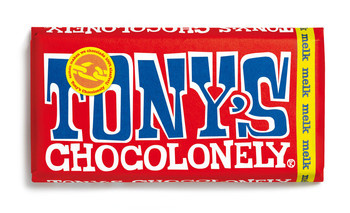 Tony's Chocolonely Tony'S Chocolonely - Reep 180G Melk, 15 Repen