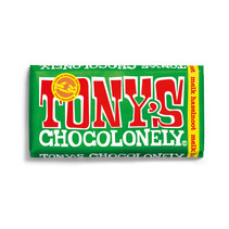 Tony's Chocolonely - 180g melk hazelnoot - 15 repen