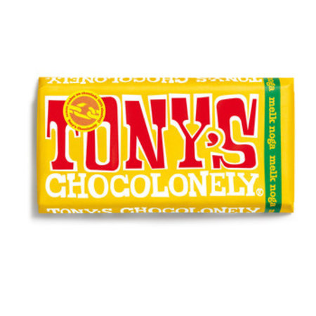 Tony's Chocolonely Tony's Chocolonely - 180g melk noga - 15 repen
