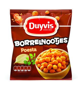 Duyvis Duyvis - borrelnootjes 300g poesta - 8 zakken