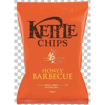 Kettle Food - honey barbeque chips - 8 zakken