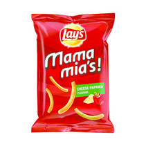 Lay's - mamamia's 125g paprika-kaas - 9 zakken