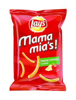 Lay's Lay's - mamamia's 125g paprika-kaas - 9 zakken