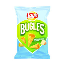 Lay's - bugles nacho cheese 115g - 24 zakken