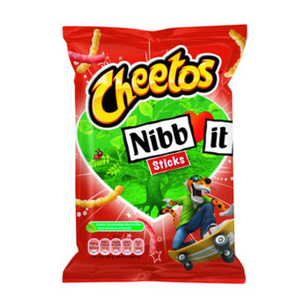 Cheetos Cheetos - nibbit sticks naturel 22g - 30 zakken