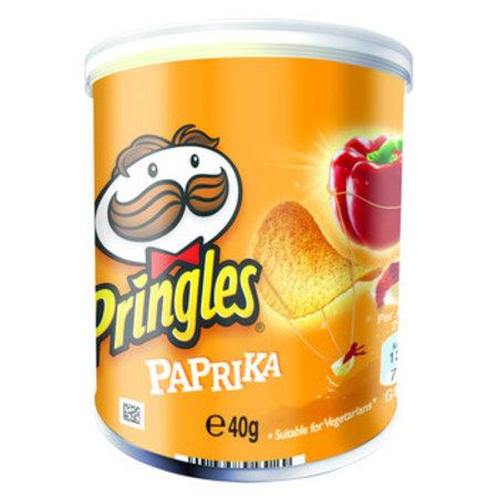 Pringles Pringles - 40gr paprika - 12 kokers