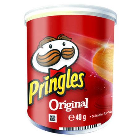 Pringles Pringles - 40gr original - 12 kokers