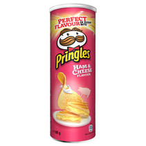 Pringles - ham & cheese 165g - 9 kokers