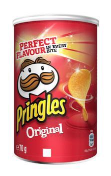 Pringles Pringles - original 70g - 12 kokers