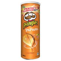 Pringles - paprika 165g - 19 kokers
