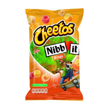 Cheetos Cheetos - nibbit rings natural 110g - 9 zakken