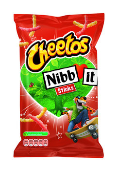 Cheetos Cheetos - nibbit sticks naturel 110g - 20 zakken