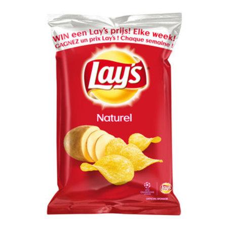 Lay's Lay's - 40gr naturel - 20 zakken