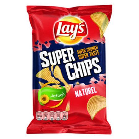 Lay's Lay's - superchips 45gr naturel - 20 zakken