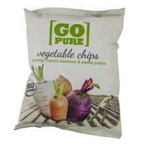 Go Pure! - bio! go pure chips groente - 15 zakken