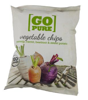 Go Pure! Go Pure! - bio! go pure chips groente - 15 zakken