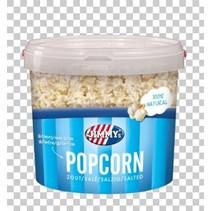 Jimmy´s - popcorn emmer zout 140gr - 12 emmer