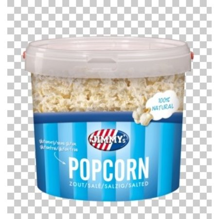 Jimmy´s Jimmy´s - popcorn emmer zout 140gr - 12 emmer