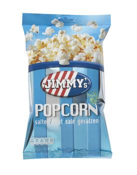 Jimmy´s Jimmy´s - impulsbag popcorn zout 40g - 12 zakken