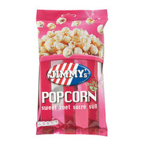 Jimmy´s - impulsbag popcorn zoet 60g - 12 zakken