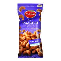 Nutisal - cashew dr salted 14 x 60 gr - 14 stuks