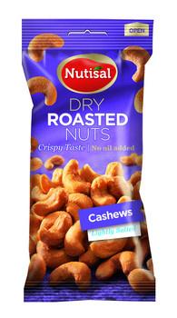 Nutisal Nutisal - cashew dr salted 14 x 60 gr - 14 stuks
