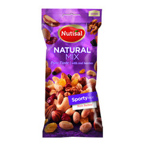 Nutisal - sporty mix natural 14 x 60 gr - 14 stuks
