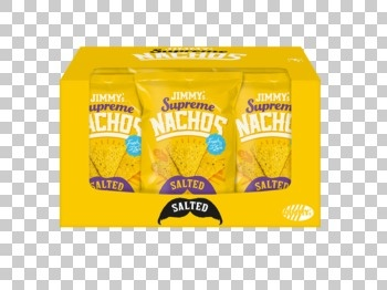 Jimmy´s Jimmy´s - supreme nachos salted 140g - 12 zakken