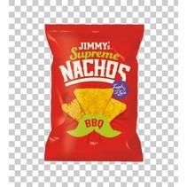 Jimmy´s - supreme nachos bbq 140g - 12 zakken