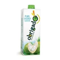 Obrigado - obrigado-pure coconut water 1 liter - 12 stuks