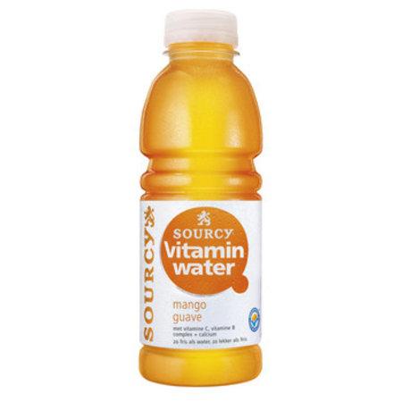 Sourcy Sourcy - vit w mango/guave 50cl - 6 flessen