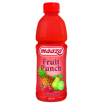 MAAZA - fruit punch 50cl pet - 12 flessen