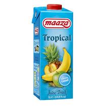 MAAZA - tropical 1lt pakken - 6 pakken
