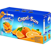 CapriSun - orange 10pk 20cl pakken - 4 pakken