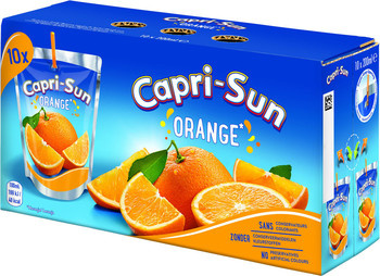 CapriSun CapriSun - orange 10pk 20cl pakken - 4 pakken