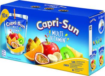 CapriSun CapriSun - multivit 10pk 20cl pakken- 4 pakken