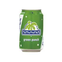 Fernandes - green pun 33cl blik - 12 blikken