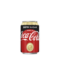 Coca Cola - zero vanilla 33cl bl- 12 blikken