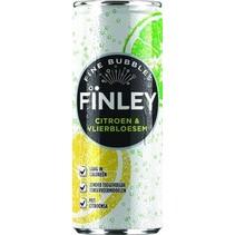 Finley - lemon&elderfl 6x25cl - 6 blikken