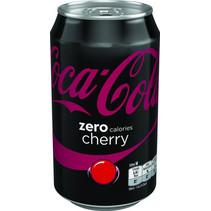 Coca Cola - zero cherry 33cl bl - 12 blikken