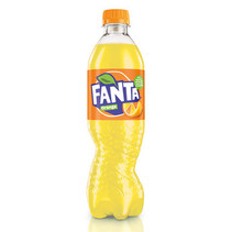 Fanta - orange 50cl pet - 12 flessen