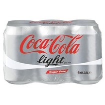 Coca Cola - light 6pk 33cl blik - 4 6 pack