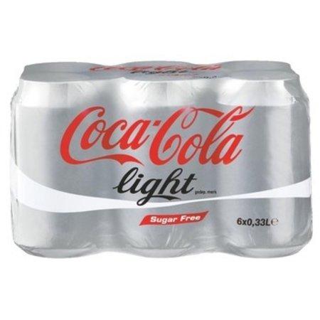 Coca Cola Coca Cola - light 6pk 33cl blik - 4 6 pack