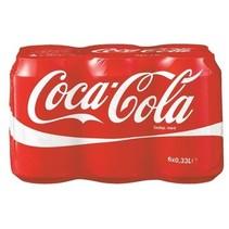 Coca Cola - regul 6pk 33cl blik - 4 6 pack