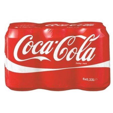 Coca Cola Coca Cola - regul 6pk 33cl blik - 4 6 pack