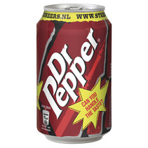 Dr Pepper - 33cl blik - 24 blikken