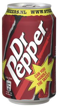 Dr Pepper Dr Pepper - 33cl blik - 24 blikken