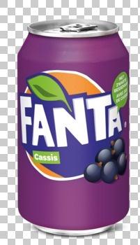 Fanta Fanta - cassis 33cl blik - 24 blikken